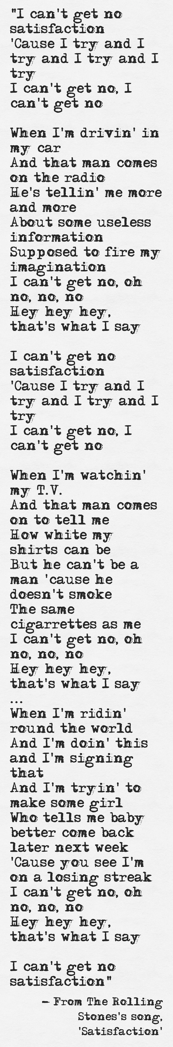 Benny Benassi – Satisfaction Lyrics | Genius Lyrics