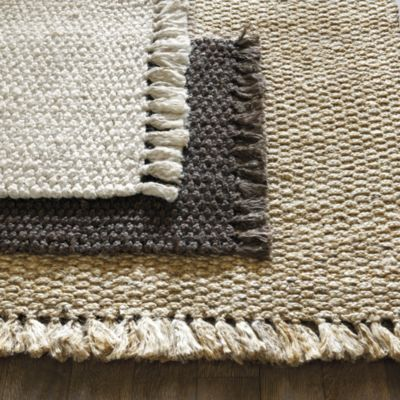 Braided Jute Rug - Brown Braided Jute Rug-Living Room Rug while our children are small.