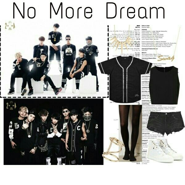 BTS No More Dream inspired outfit