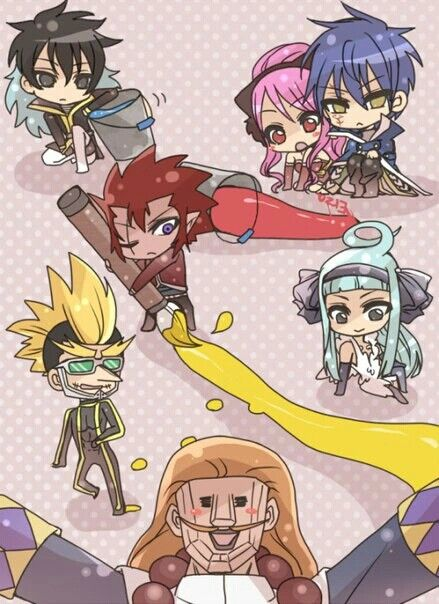 Fairy Tail- Crime Sorciere (Jellal, Meredy, Midnight, Hoteye, Cobra, Angel
