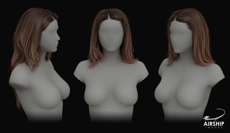 ArtStation - Real-Time Hair Development, Airship Images