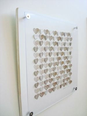 Have guests write well wishes on paper hearts: Wedding Guest Book, Guest Book Alternatives, Guest Books, Heart Guest, Wedding Ideas, Paper Hearts, Weddings, Heart Wedding