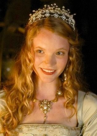 Queen Catherine Howard from the TV show The Tudors..