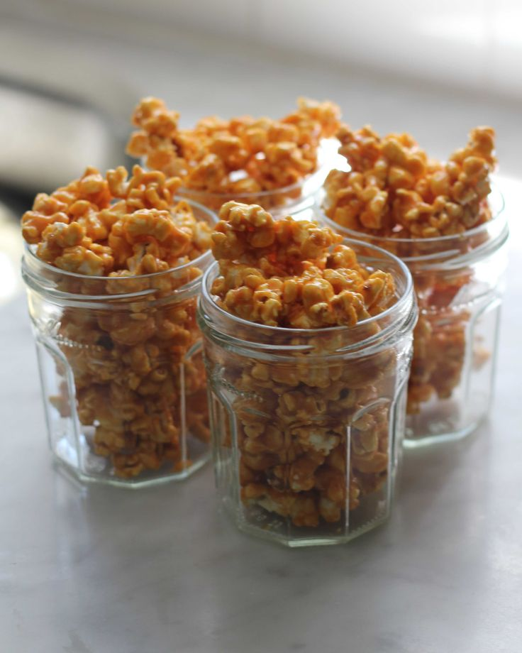 Salty caramel popcorn recipe, great for gifting!