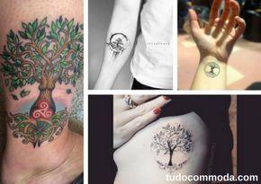 A tatuagem é um boa forma de marcar para sempre símbolos, memórias e imagens que você gosta. Para quem é ligado na natureza, a árvore é uma tatuagem bem requisitada cheia de significados.Uma de suas variações é a tatuagem árvore da vida. Confira o seu significado e muitas fotos para se inspirar! Significado da Árvore da Vida A árvore em si já representa fonte de vida, a tatuagem árvore da vida adiciona outro conceito que éa ligação entre céu e terra, e vida e morte. Por isso suas folhas…