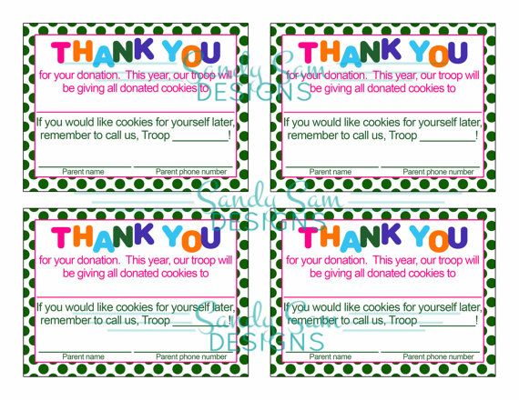 Best Girl Scout Certificates  Thank Yous Images On