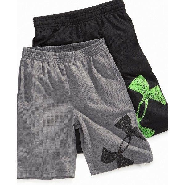 kid boy under armour   Under Armour Kids Shorts, Little Boys Power Up Shorts