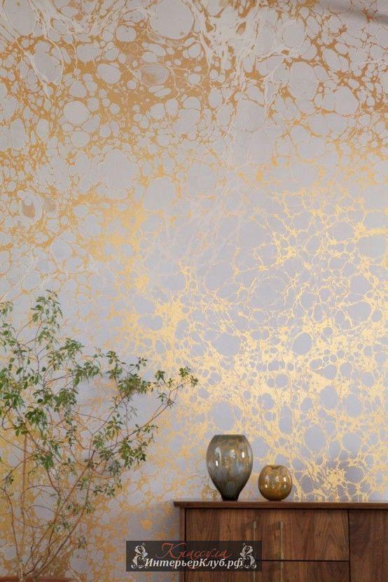 Золотые акценты в интерьере, золотой декор в интерьере
