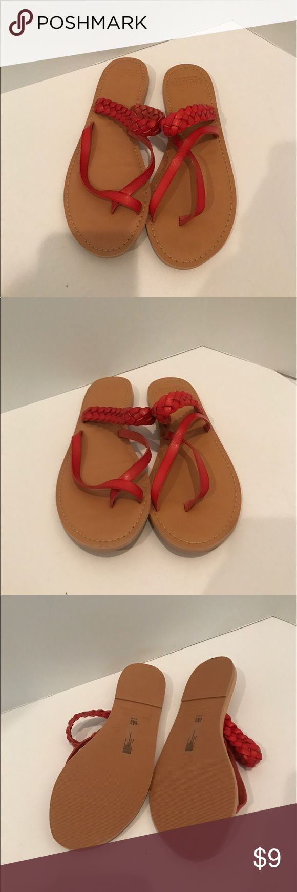 Hollister sandles size 9 New with out tags great condition never worn size 9 Hollister Shoes Sandals