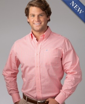 Gingham Sport Shirt  http://www.southerntide.com/products/Gingham-Sport-Shirt.html
