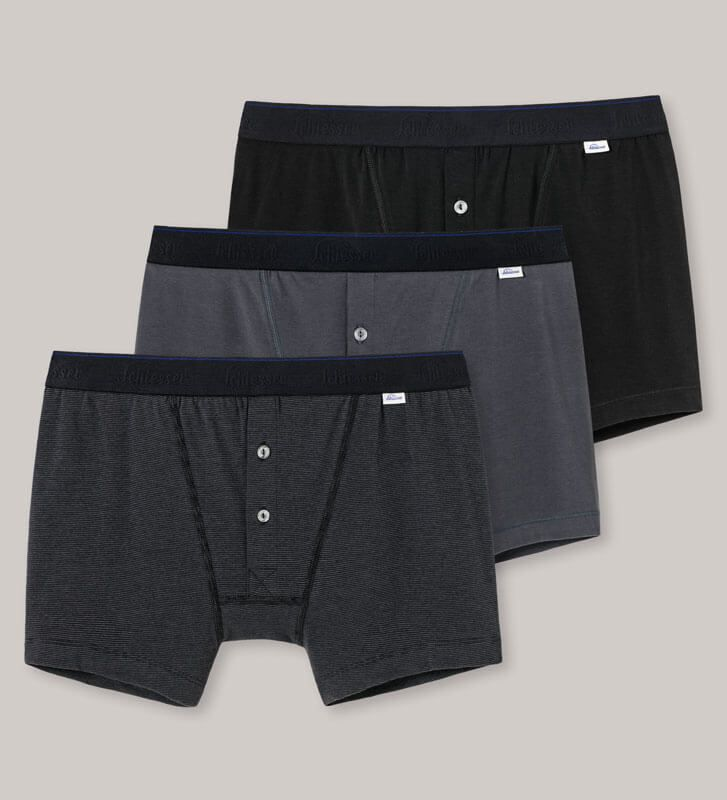 Boxer pants in a soft Pima stretch cotton blend for superb comfort & fit. Schiesser's Revival collection for traditional craftsmanship & premium materials.