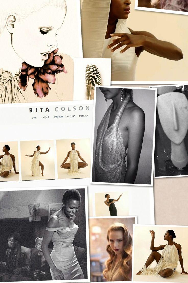 Mood board #ritacolsoninspirational #SS14 #TeneishaBonner #sleektechnique #research #collaborating #ballet #contemporarydance #fashion #couture #elegance #ritacolson