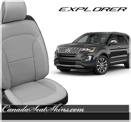 2016 All New Ford Explorer Leather Packages Available in Tons of Options - canadaseatskins.com #leather