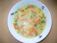 Rýžová polévka pro děti