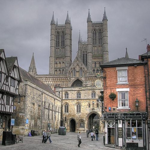 Lincoln, England  photo by woody: England Photo, Language