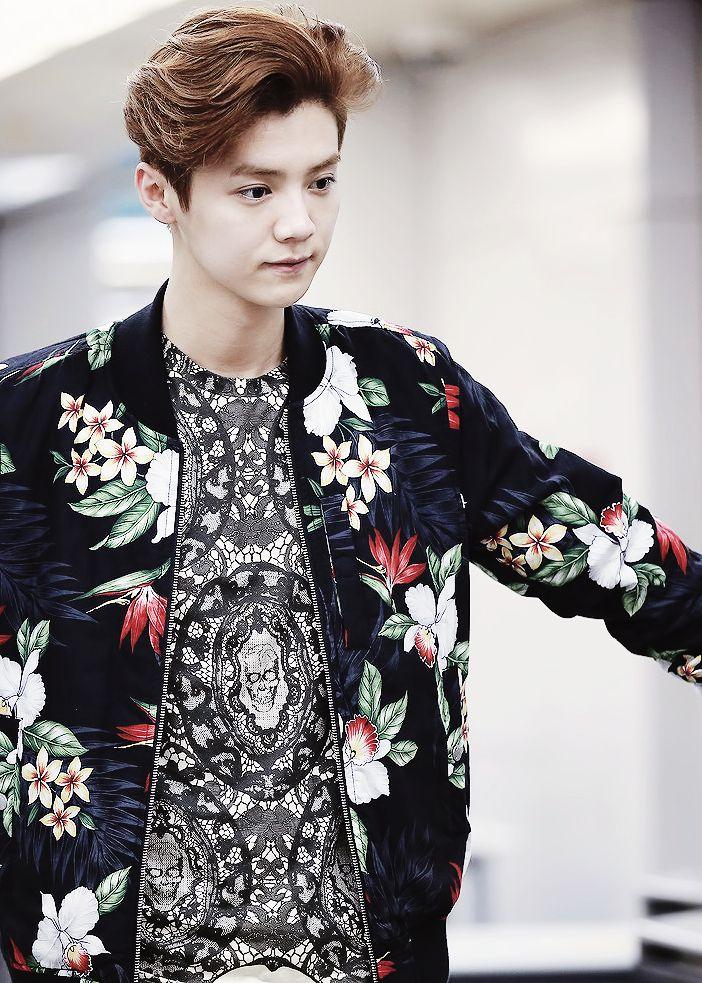 Luhan ♥ Airport Fashion ♥ #EXO | HQ EXO (Luhan) airport fashion ...