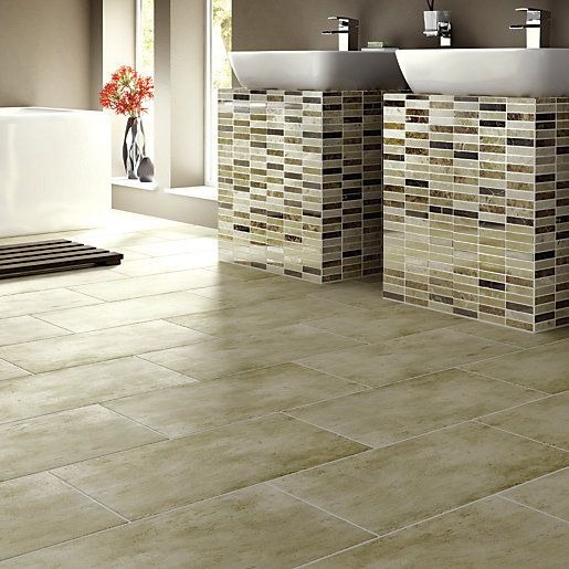 This Wickes Matte Beige Porcelain Floor Tile Is Versatile, Sophisticated  And Stylish.