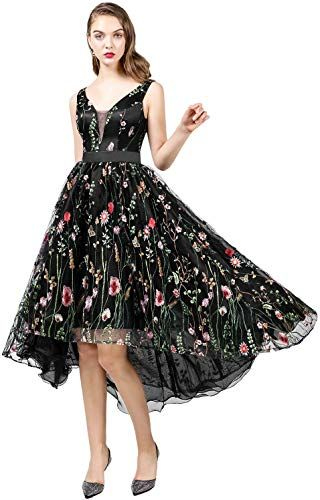 Best Seller Zyhappk Sexy Empire Waist Homecoming Dresses 3D Flowers Juniors Party Dress 2019 Evening Gowns ZY20 online