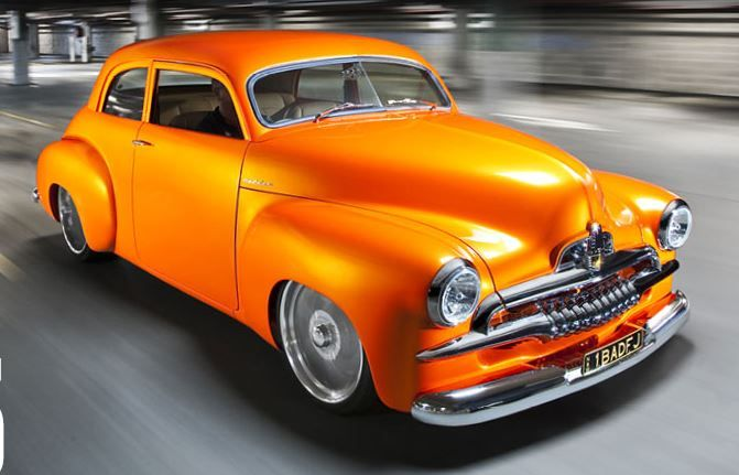 ❤ Best of Street @ MACHINE ❤ (1953 FJ Holden 'Tequila Sunrise')