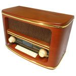 Wolverine Retro Bluetooth Speaker & AM/FM Radio, costco.com sale!! $84.99