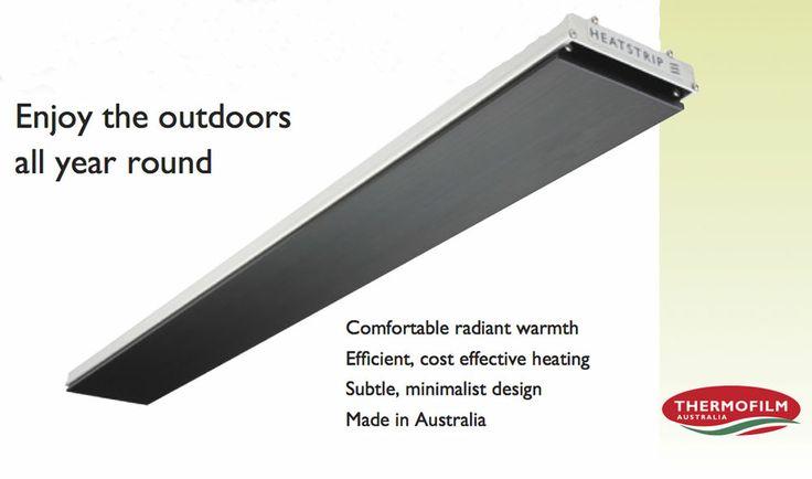 Heat strip radiant