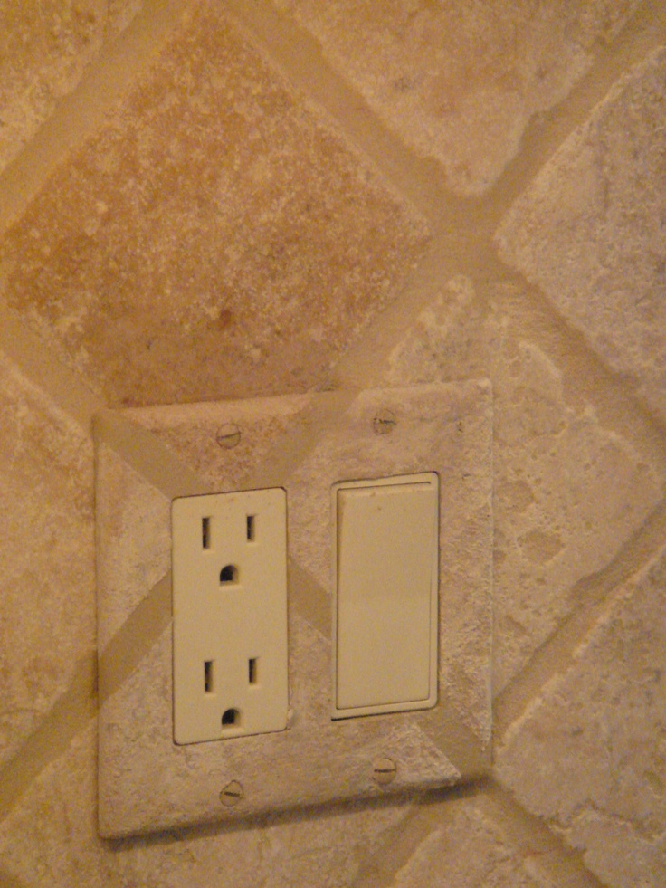 Make those electrical covers go away!: Faux Magic, Electric Covers