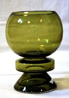 "A glass vase ""Ella"" by Nanny Still. Designed in 1970s. Riihimäen lasi."