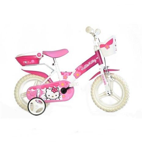"Vehicule pentru copii :: Biciclete si accesorii :: Biciclete :: Bicicleta Hello Kitty 12"" Dino Bikes"