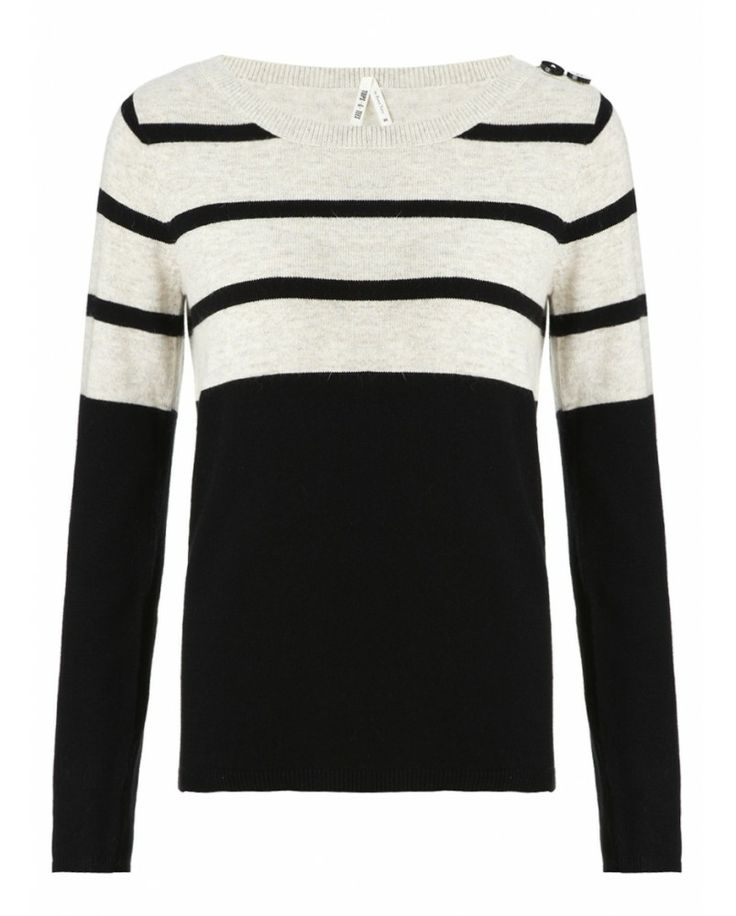 Part Two Blaky black stripe jumper - Atterley Road