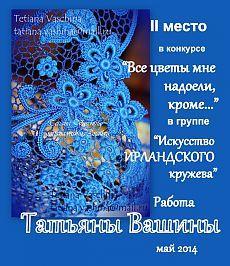 Искусство ИРЛАНДСКОГО кружева Ольга Масагутова
