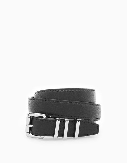 At Stradivarius you'll find 1 Belt with metallic loops for woman for just 5.95 € . Visit now to discover this and more ACCESSORIES.