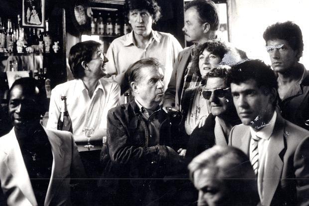 Francis Bacon at Colony Room