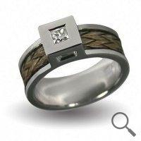 Horsehair ring Boccelli, Ribbon 6mm the original collection www.nannasalmi.com
