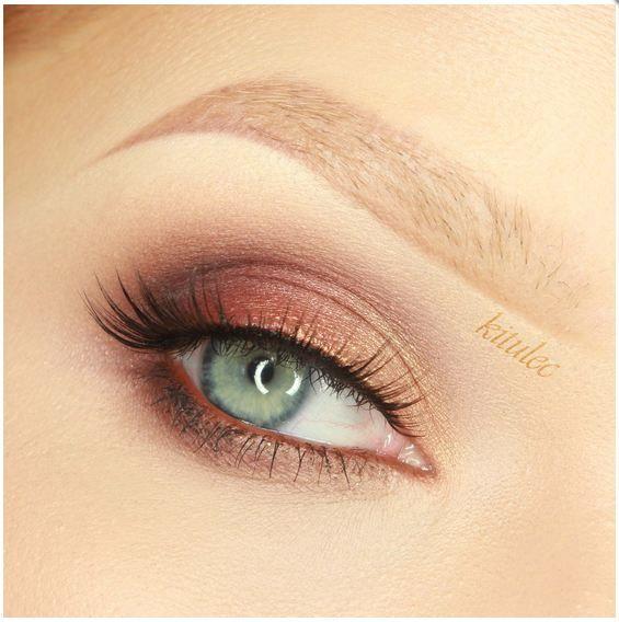 нежный макияж глаз