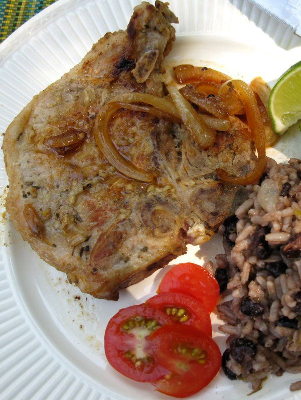 Chuletas De Puerco Criollas (Cuban-Style Pork Chops)