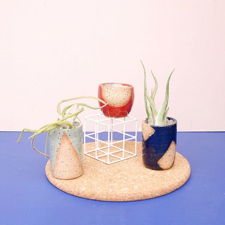 Nightshift Ceramics | Mini Vase Trio