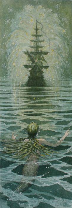 ♒ Mermaids Among Us ♒ art photography & paintings of sea sirens & water maidens - The Little Mermaid
