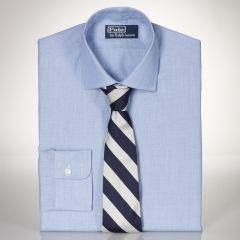 Custom-Fit End-on-End Regent - Polo Ralph Lauren Custom-Fit  - RalphLauren.com
