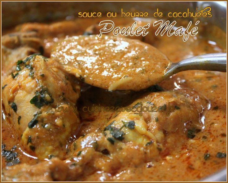 Poulet mafe sauce au beurre de cacahuetes