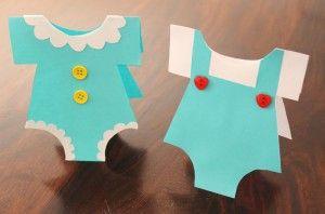 Tarjetas de mameluco hechas a mano | Blog de BabyCenter por @Carolina Llinas