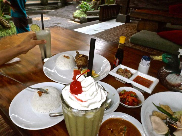 Our dishes on Bebek Bengil Restaurant. So delicious!! #ALIKA