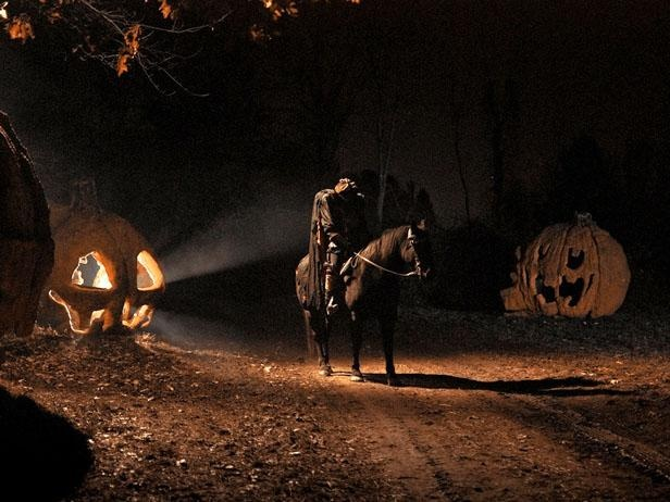 """Headless Horseman Hayride  Ulster, N.Y.  Just a short car ride from Sleepy Hollow -- the inspiration for Washington Irving's famous story """"The Legend of Sleepy Hollow"""" -- this small town in New York puts a terrifying twist on the traditional hayride. The one-mile journey winds through acres of gloomy woods, full of sinister scenes and creepy characters lurking behind the bushes. The hair-raising ride culminates with an appearance from the Headless Horseman himself."""