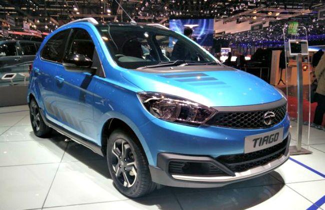 Tata Tiago showcased at Geneva Motor Show