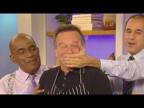 Robin Williams Greatest TODAY Moments | TODAY - YouTube