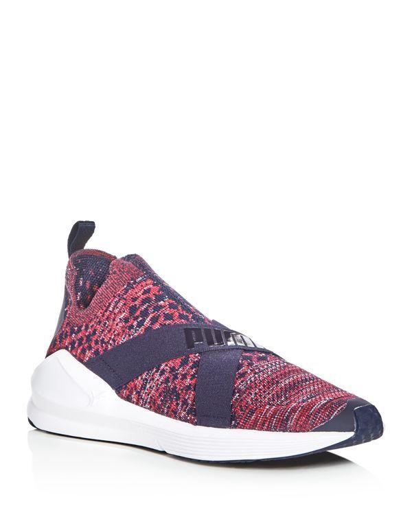 Puma Women's Fierce Evoknit Slip-On Sneakers