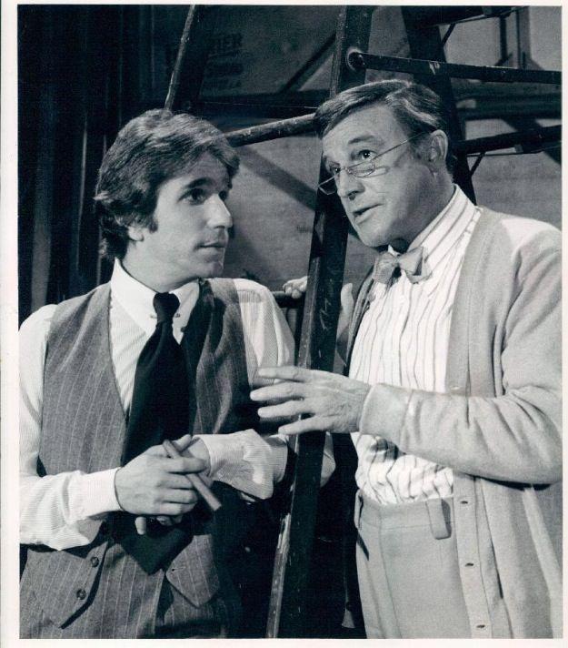 Henry Winkler and Gene Kelly