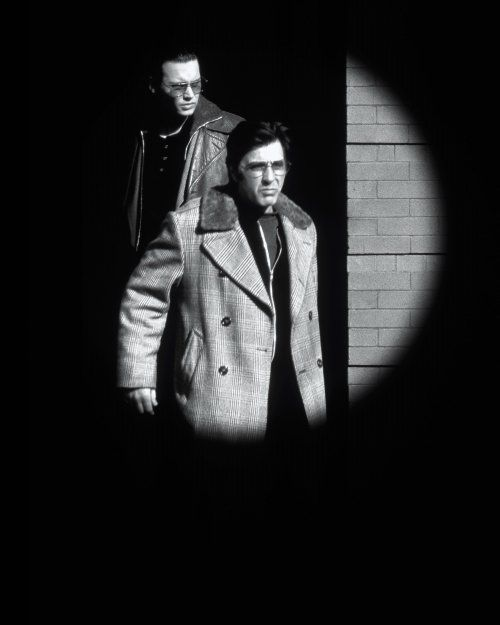 Donnie Brasco - Movie artwork for Mike Newall's undercover mob hit Donnie Brasco #GangsterFlick
