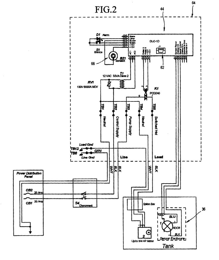 Wiring Diagram Septic Tank Control