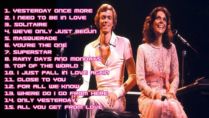 Best of the carpenters - karen carpenter songs