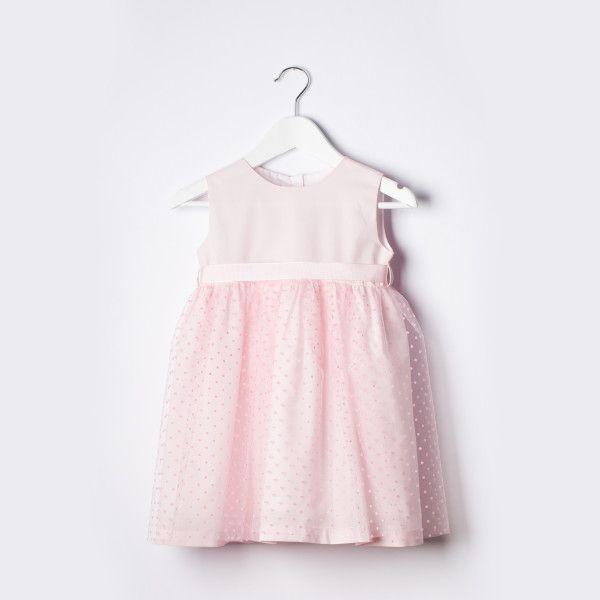 Pink Tulle Ballerina Dress | Little Adorables